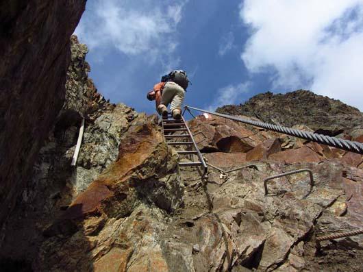 Klettersteig Meran : Oberstdorf meran tag verpeilhuette riffelseehuette